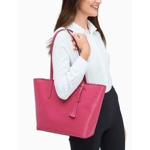 🆕Kate Spade ♠️ Emilia Magenta Pink Tote Bag NWT